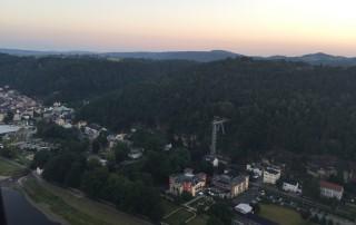 Ballonfahrt Sächsische Schweiz | Personenaufzug Ostrau