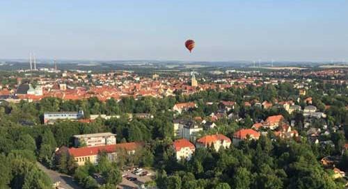 Ballonfahrten in Freiberg