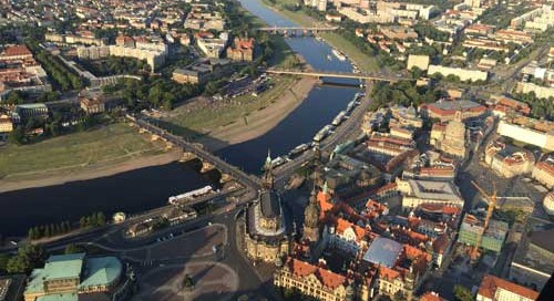 Ballonfahrten in Dresden